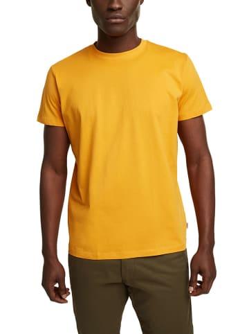 ESPRIT Koszulka w kolorze żółtym