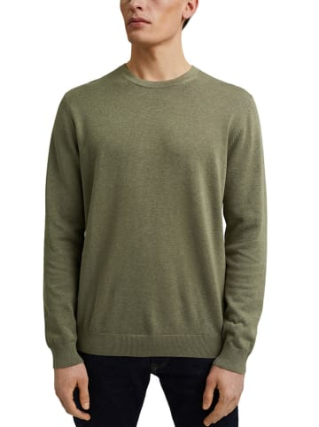 ESPRIT Sweter w kolorze khaki