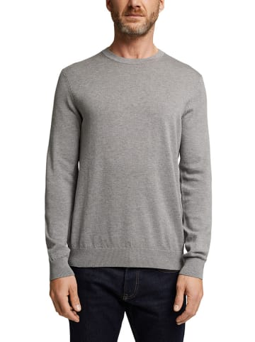 ESPRIT Sweter w kolorze szarym