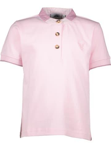 Isartrachten Poloshirt in Rosa