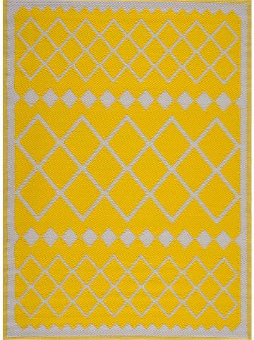 """Nazar Indoor-/outdoor-tapijt """"Scoobi"""" geel"""