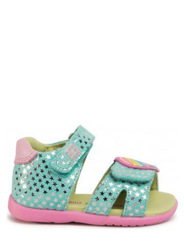 Agatha Ruiz de la Prada Leren sandalen turquoise