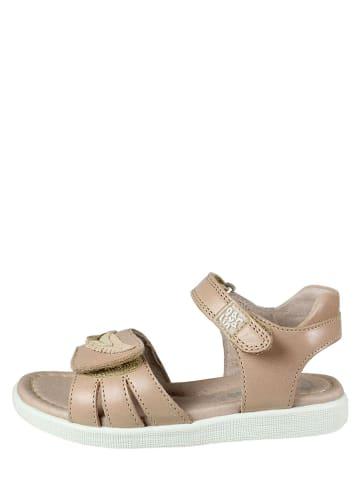 Garvalin Leren sandalen beige