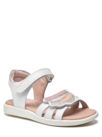 Garvalin Leren sandalen wit