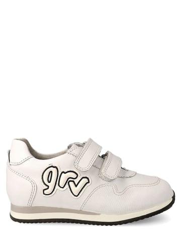 Garvalin Leren sneakers wit