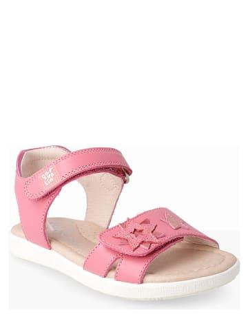 Garvalin Leren sandalen lichtroze