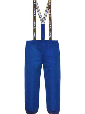 """Kamik Spodnie przeciwdzeszczowe """"Lev"""" w kolorze niebieskim"""