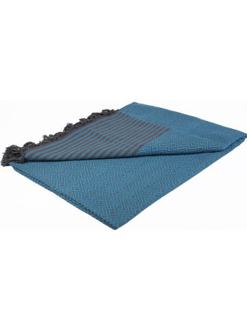 Samimi Plaid turquoise - (L)250 x (B)200 cm