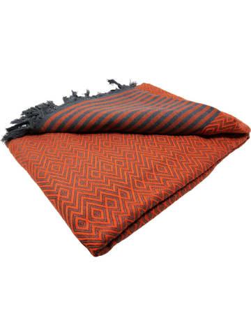 Samimi Pled w kolorze pomarańczowym - 250 x 200 cm