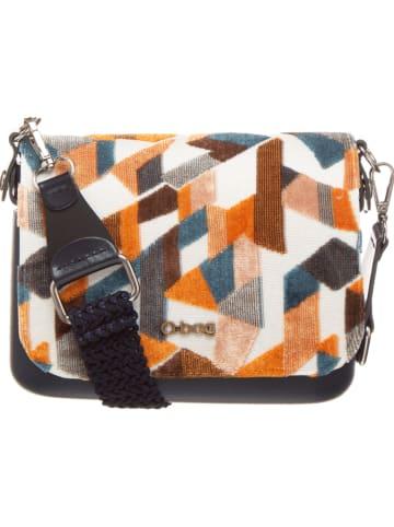 """O Bag Schoudertas """"O Pocket"""" meerkleurig/donkerblauw - (B)19 x (H)13 x (D)6 cm"""