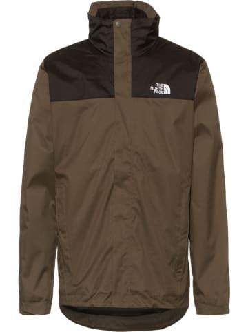 The North Face Kurtka funkcyjna 3w1 w kolorze czarno-brązowym