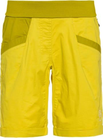 """LA SPORTIVA Szorty """"Ramp"""" w kolorze żółtym"""