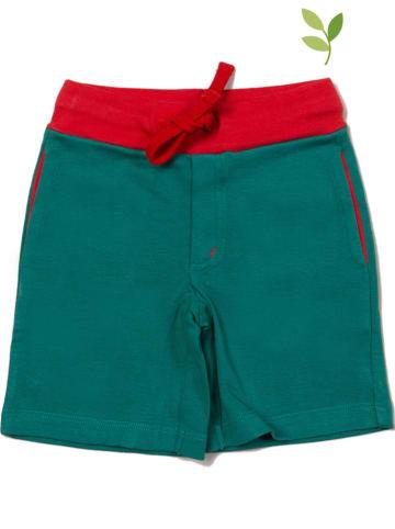 Little Green Radicals Szorty dresowe w kolorze zielonym
