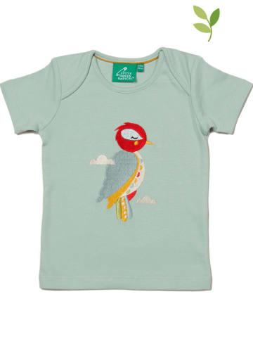 Little Green Radicals Shirt turquoise