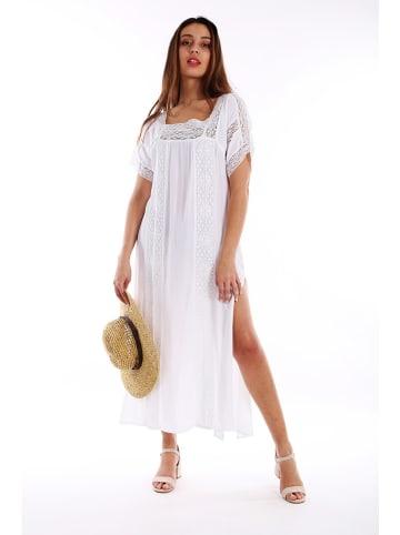 Last Queen Sukienka w kolorze białym