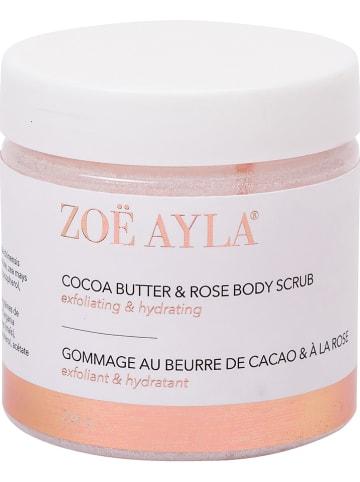 "Zoë Ayla Körperpeeling ""Cocoa Butter & Rose"", 226 g"