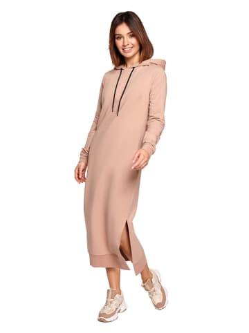 Be Wear Sukienka w kolorze beżowym
