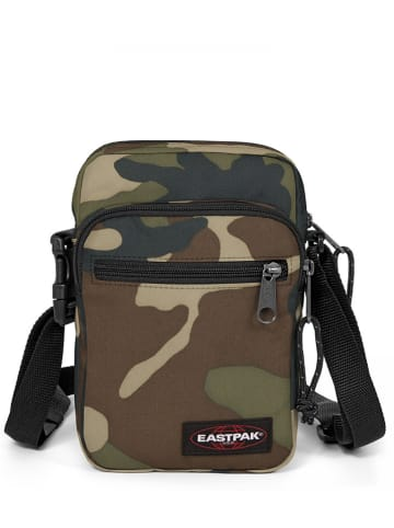 "Eastpak Schoudertas""Double One""  kaki - (B)16,5 x (H)21 x (D)5,5 cm"
