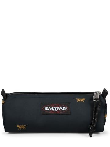 "Eastpak Etui ""Benchmark"" donkerblauw - (B)20,5 x (H)7,5 x (D)6cm"