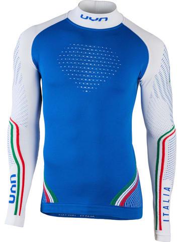 UYN Functioneel onderhemd blauw/wit