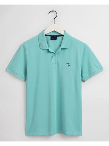 Gant Poloshirt turquoise