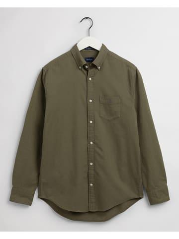 Gant Koszula w kolorze khaki