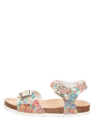BIO PINGÜIN Sandały w kolorze miętowym ze wzorem
