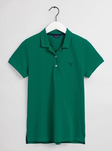 Gant Koszulka polo w kolorze zielonym