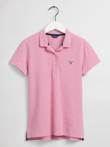 Gant Koszulka polo w kolorze jasnoróżowym