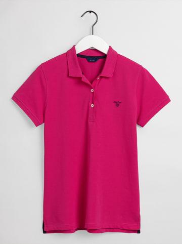 Gant Koszulka polo w kolorze różowym