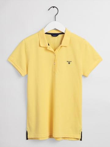 Gant Poloshirt geel