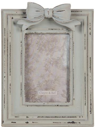 Clayre & Eef Bilderrahmen in Hellblau - (L)19 x (B)15 cm