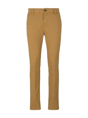 Tom Tailor Spodnie - Slim fit - w kolorze jasnobrązowym