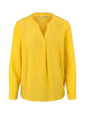 Tom Tailor Bluzka - Regular fit - w kolorze żółtym
