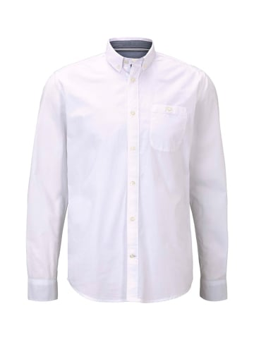 Tom Tailor Koszula - Regular fit - w kolorze białym