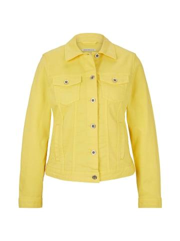 Tom Tailor Kurtka dżinsowa w kolorze żółtym