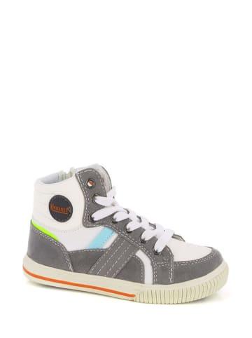 """Kimberfeel Sneakers """"Fauste"""" wit/grijs"""