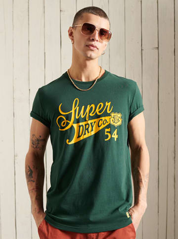 "Superdry Shirt ""Collegiate"" groen"