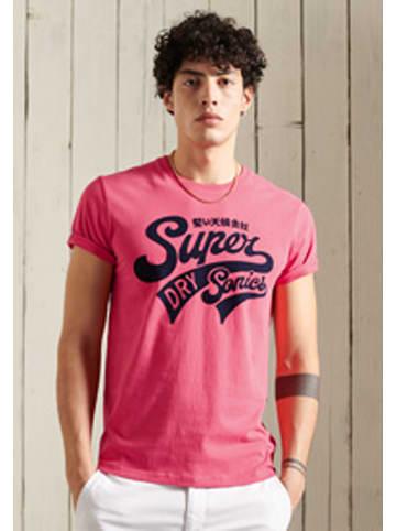 "Superdry Shirt ""Collegiate"" roze"