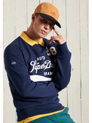"Superdry Sweatshirt ""Collegiate"" donkerblauw"
