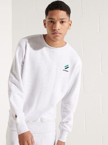 """Superdry Sweatshirt """"Sportstyle"""" lichtgrijs"""