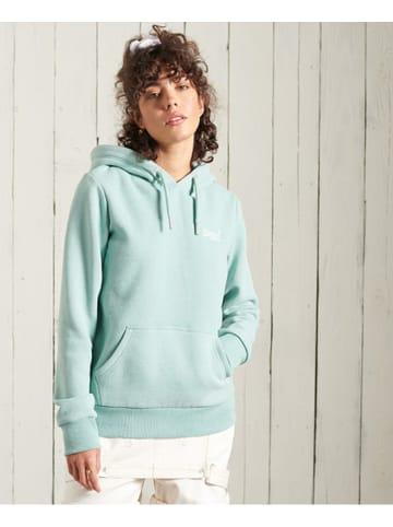 "Superdry Sweatshirt ""Classic"" turquoise"