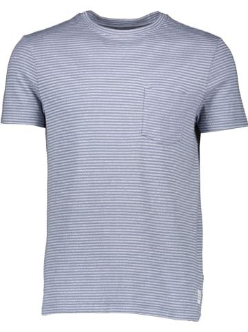 Marc O'Polo DENIM Koszulka w kolorze błękitno-szarym