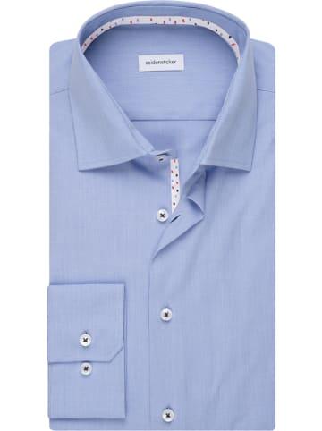 Seidensticker Blouse - regular fit - blauw