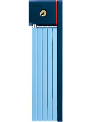 ABUS Zamek składany w kolorze błękitnym - dł. 80 cm