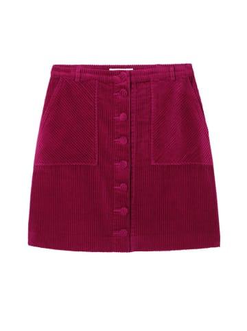 TATUUM Spódnica w kolorze wiśniowym
