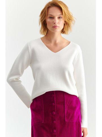 TATUUM Sweter w kolorze kremowym