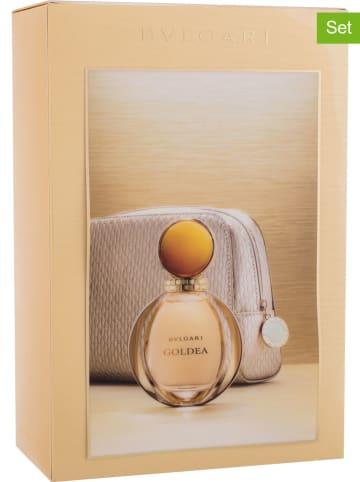 "Bvlgari 2-delige set: ""Goldea"" - eau de parfum en toilettas"
