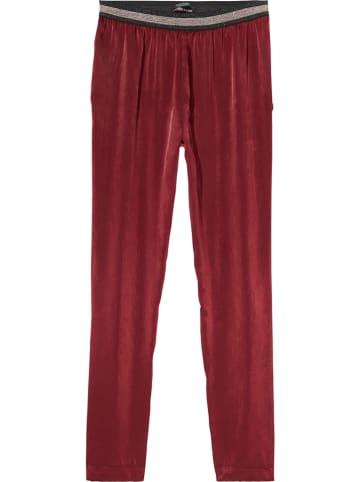 Scotch & Soda Spodnie w kolorze czerwonym