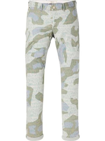 Scotch & Soda Spodnie chino - Slim fit - w kolorze zielonym